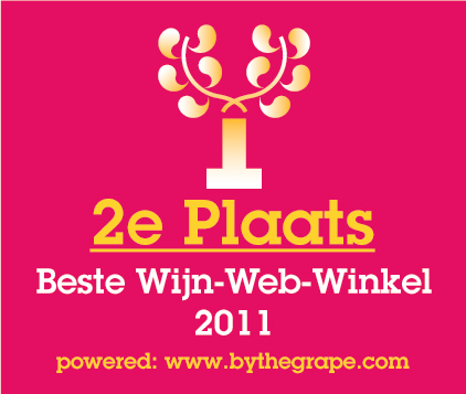 2e Plaats Beste Wijn-Web-Winkel 2011