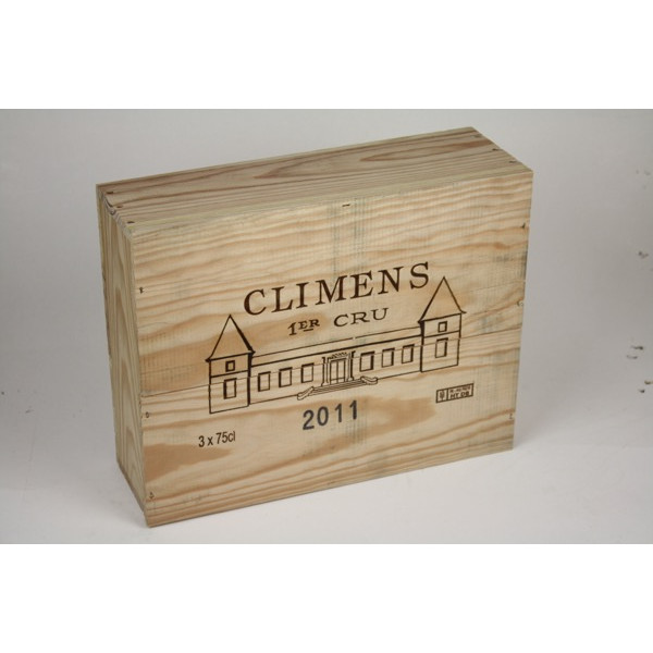 Château Climens 2011 kistje van 3